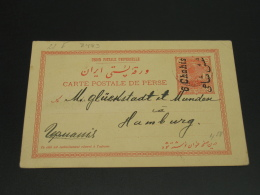 Iran 1911 Postal Card To Germany *8483 - Iran