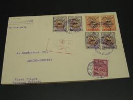 Iran 1920s First Flight Cover Teheran Pehlevi *8248 - Iran