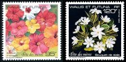 WALLIS ET FUTUNA 1993 - Yv. 449 Et 450 ** TB  Faciale= 1,80 EUR - Fête Des Mères : Fleurs (2 Val.)  ..Réf.W&F21798 - Wallis Und Futuna