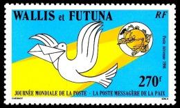 WALLIS ET FUTUNA 1986 - Yv. PA 153 ** TB  Faciale= 2,26 EUR - Journée Mondiale De La Poste  ..Réf.W&F21864 - Luftpost