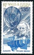WALLIS ET FUTUNA 1987 - Yv. PA 157 ** TB  Cote= 5,10 EUR - Auguste Picard, Ballon Et Bathyscaphe  ..Réf.W&F21872 - Luftpost