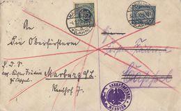 DR Dienstbrief 3x Verwendet Mif Minr. 16,4x 20,31,32 Marburg (Lahn) Ansehen !!!!!!!!!! - Dienstpost