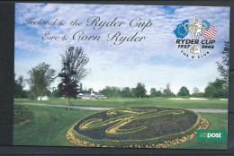 Irlande 2005 Carnet N°1669  Neuf ** Sport, Golf Ryder Cup - Carnets