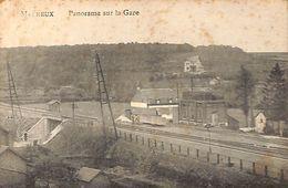 Melreux - Panorama Sur La Gare (Edit Billa, 1922) - Hotton