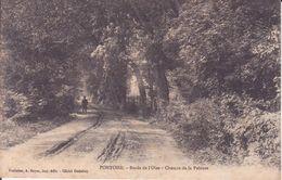 CPA -  PONTOISE -Bords De L'Orne - Chemin De La Pelouse - Pontoise