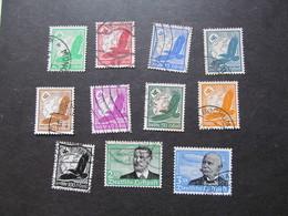 DR529-538) Duitse Rijk/German Empire/Empire Allemand/Deutsche Reich 1934 (Gebr/used/obl/o) Yt 43-53 - Germany