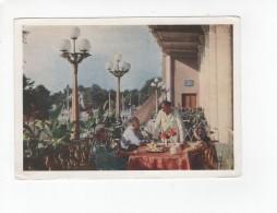 03295 Stalinabad Today Dushanbe Tea In Tea-house - Tadjikistan