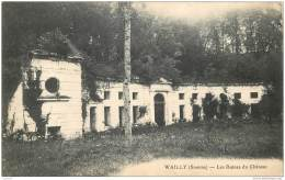 80 - WAILLY - Ruines Du Chateau - Témoignage D'un Soldat Guerre 14/18 - Autres Communes