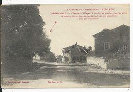 Rehainviller    Guerre 1914-18 - Other Municipalities
