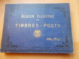 COLLECTION DU MONDE Dans Un Album Maury , Année 1860 / 1920 Obliteres - Stamps