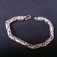 Bracelet Argent Silver,ancien,long 20 Cm - Armbänder