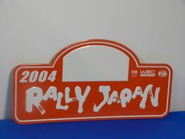"""Plaque De Rallye """"JAPON"""" 2004 Rally Plate - Plaques De Rallye"""
