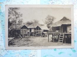 Un Village Au Cambodge - Cambodge