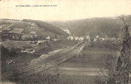 Sy Verlaine - Ligne Du Chemin De Fer (Desaix, 1924) - Hamoir