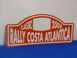 "Plaque Rallye ""RALLY COSTA ATLANTICA""  2008. - Rallye (Rally) Plates"