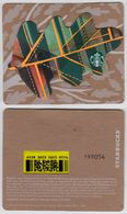 Starbucks - USA - 2016 - CN 6128 3653 Fall 2016 - Dark Green - Gift Cards