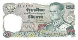 THAILAND 20 BAHT ND (1997) P-88 UNC SIGN. 67 [TH157m] - Thailand