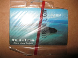 """Téléécarte Wallis -et- Futuna """"ile Du Lagon"""" - Wallis And Futuna"""