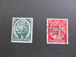 DR544-545) Duitse Rijk/German Empire/Empire Allemand/Deutsche Reich 1934 (Gebr/used/obl/o) Yt 509-510 - Germany