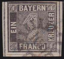 Bayern    .    Michel    .    1    .       O           .       Gebraucht     .   /   .    Cancelled - Bayern