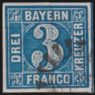 Bayern    .    Michel    .    2 I      .       O           .       Gebraucht     .   /   .    Cancelled - Bayern