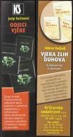 Croatia 2017 / Bookmarks / Bookmarker / Turcinovic / Hadjadj - Segnalibri
