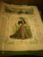 Journal De Famille La Mode Illustrée No 1 ( Avec Planche De Patrons 50cent ) De 47em Année Du 1er Janvier  1906 _6 Pages - Fashion