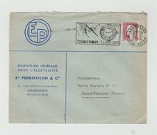 LSC 1964 - Flamme - ANNEMASSE Centre Horloger Touristique - Climatique - Marcophilie (Lettres)