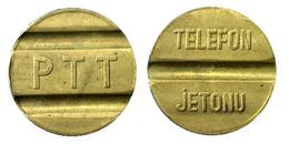 01941 GETTONE JETON TOKEN TURKEY TELEFONO TELEFON PTT JETONU SMALL - Tokens & Medals