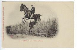 CPA 49 Militaires Régiment Saumur Saut Du Bull Finsch Du Breil N° 30 - Reggimenti