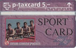 Specimen - SportCard Aviron - Switzerland