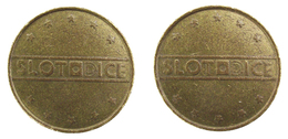 00064  GETTONE JETON TOKEN SWEDEN GAMING SLOT MACHINE SLOTDICE - USA