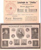 CATASTROPHE SOUS MARIN PLUVIOSE 1910 CALAIS MARINE NATIONALE PHOTO MEMBRE EQUIPAGE - Boten