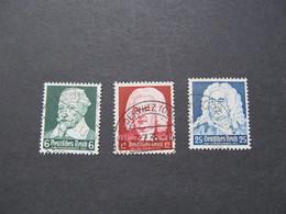 DR573-575) Duitse Rijk/German Empire/Empire Allemand/Deutsche Reich 1935 (Gebr/used/obl/o) - Germany