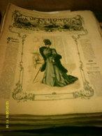 Journal De Famille La Mode Illustrée No 3 ( Avec Planche De Patrons 50cent ) De 47em Année Du 21 Janvier  1906 _6 Pages - Mode
