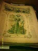 Journal De Famille La Mode Illustrée No 10 ( Avec Planche De Patrons 50cent ) De 47em Année Du 11 Mars  1906 _6 Pages - Fashion