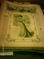 Journal De Famille La Mode Illustrée No 12 ( Avec Planche De Patrons 50cent ) De 47em Année Du 25 Mars  1906 _6 Pages - Mode