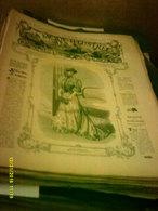 Journal De Famille La Mode Illustrée No 14 ( Avec Planche De Patrons 50cent ) De 47em Année Du 8 Avril  1906 _6 Pages - Mode