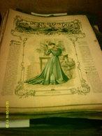 Journal De Famille La Mode Illustrée No 16 ( Avec Planche De Patrons 50cent ) De 47em Année Du 22 Avril  1906 _6 Pages - Mode
