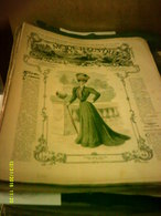 Journal De Famille La Mode Illustrée No 20 ( Avec Planche De Patrons 50cent ) De 47em Année Du 20 Mai  1906 _6 Pages - Mode