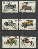ZIMBABWE 1986 - MOTORING - CPL. SET - USED OBLITERE GESTEMPELT USADO - Motorbikes