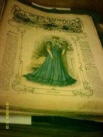 Journal De Famille La Mode Illustrée No 35 ( Avec Planche De Patrons 50cent )de 47em Année Du 2 Septembre  1906 _6 Pages - Mode