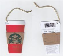 Starbucks - Switzerland - 2016 - CN 0096 4000 0709 - CUP 2016 - Gift Cards