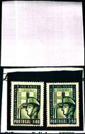 85865)  PORTOGALLO-1940-150° ANN. DELCOLLEGIO MILITARE-N.801/02--MNH** - 1910 - ... Repubblica