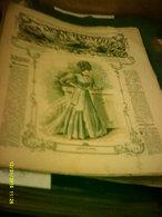 Journal De Famille La Mode Illustrée No 48 ( Avec Patrons ) De 47em Année Le 2 Decembre 1906  6 Pages - Fashion