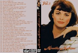 DVD MIREILLE MATHIEU ARCHIVES VOLUME 5 - Concert & Music