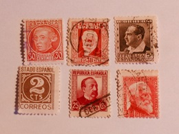 ESPAGNE  1931-36  Lot # 32 - 1931-Aujourd'hui: II. République - ....Juan Carlos I
