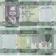 South Sudan - 1 Pound 2011 UNC Lemberg-Zp - Sudan