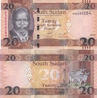 South Sudan - 20 Pounds 2015 UNC Lemberg-Zp - Soudan