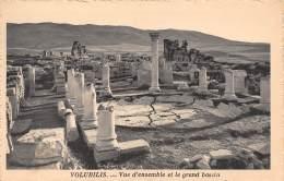 VOLUBILIS - Vue D'ensemble Et Le Grand Bassin - Maroc